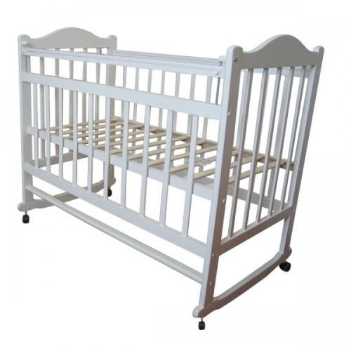 Детская кроватка колесо-качалка Мой Малыш 1