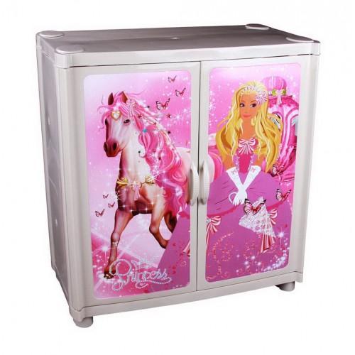Пластиковый комод-шкаф Башпласт Принцесса №4 М5006