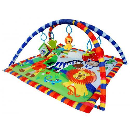Развивающий коврик LA-DI-DA Веселый зоопарк арт.PM-A-P00019