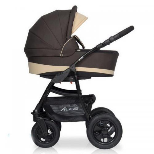 Детская модульная коляска Riko Alfa 2в1