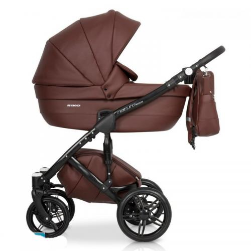 Детская модульная коляска Riko Naturo Ecco 3 в 1