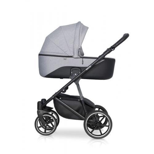 Детская модульная коляска Riko Side 2 в 1