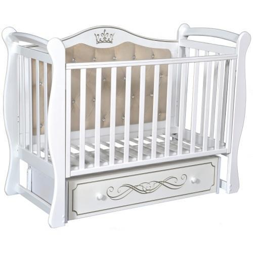 Детская кроватка с универсальным маятниковым механизмом RAY (КЕДР) Elizabeth Premium 1
