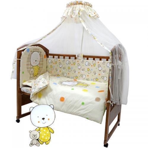 Комплект постельного белья Топотушки «Мой медвежонок» 7 предметов