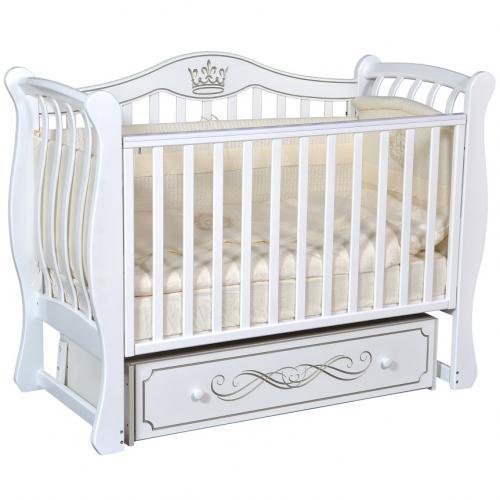 Детская кроватка с универсальным маятниковым механизмом RAY (КЕДР) Elizabeth-2