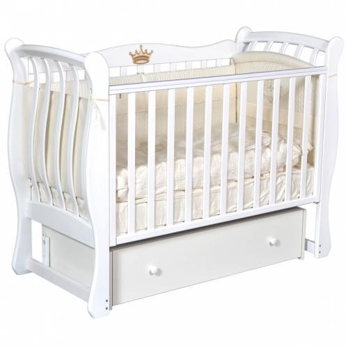 Детская кроватка с универсальным маятниковым механизмом RAY (КЕДР) Venecia-3