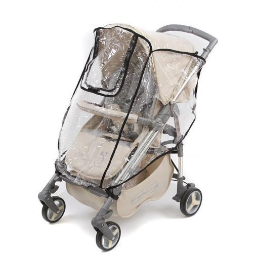 Дождевик для прогулочной коляски с окошком Bambola