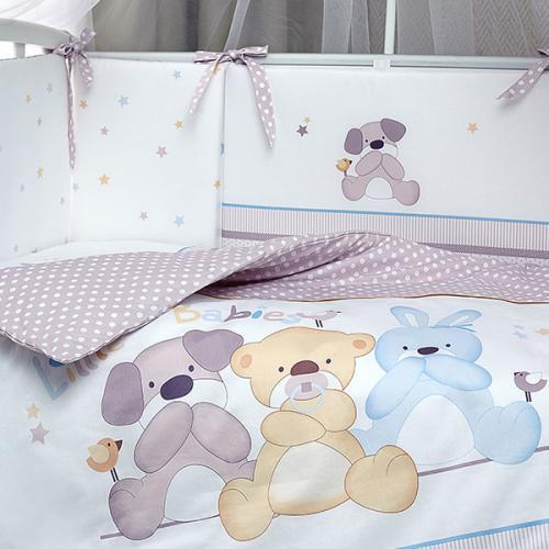 Комплект детского постельного белья Perina Венеция 4 Три друга