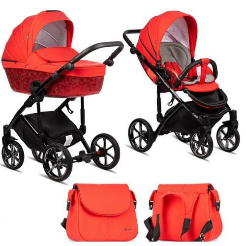 Детская модульная коляска Tutis Viva Life MAJESTIC 2019 2 в 1