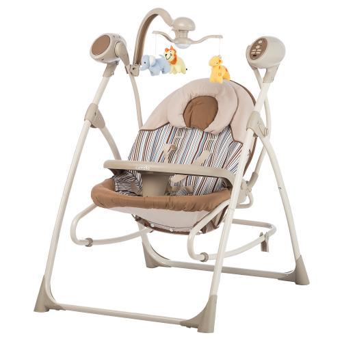 Детский шезлонг-качели CARRELLO Nanny 3в1 CRL-0005