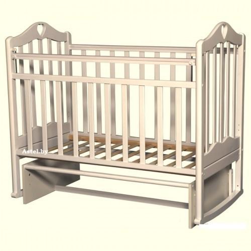 Детская кроватка Антел Каролина-3 - белая