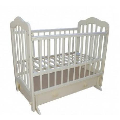 Детская кроватка с маятниковым механизмом поперечного качания Мой малыш 3