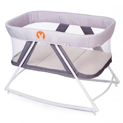 Детская колыбель-манеж Babyhit Rocking Crib 2 в 1