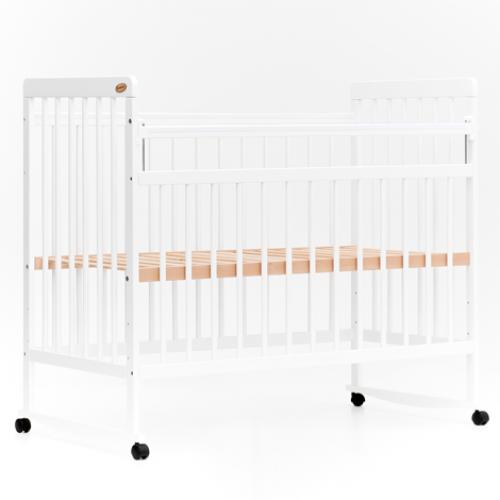 Детская кроватка колесо-качалка Bambini Евро Стиль 03