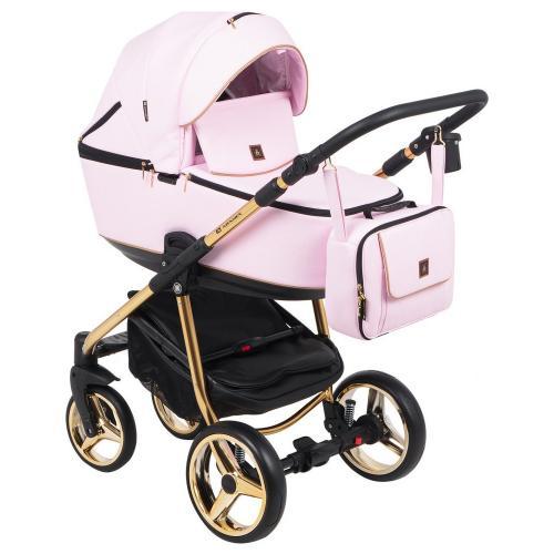 Детская модульная коляска Adamex Barcelona Eco 3в1