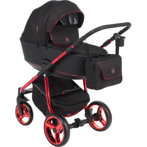 Детская модульная коляска Adamex Barcelona Special Edition 3в1