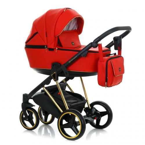 Детская коляска модульная Adamex Cristiano Eco 3в1