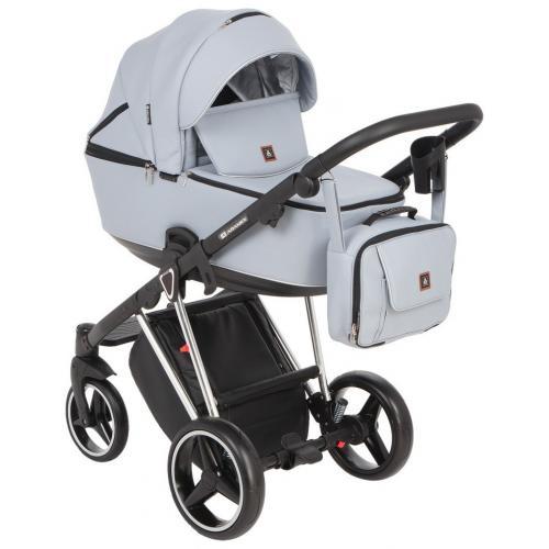 Детская коляска модульная Adamex Cristiano Eco 2в1