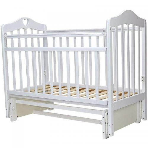 Детская кроватка с универсальным маятниковым механизмом Топотушки Оливия 5 (арт.37)