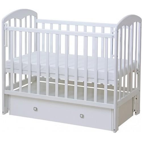 Детская кроватка с маятниковым механизмом Фея 328