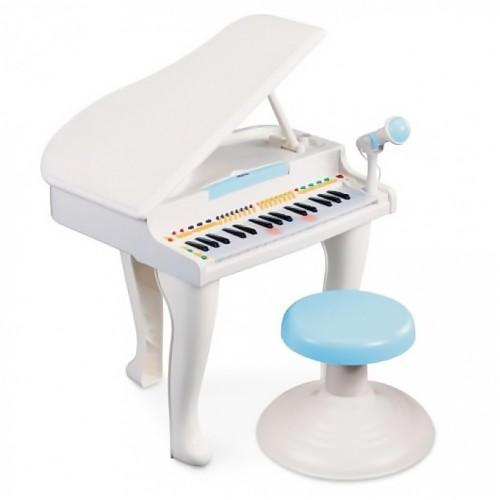Детская игрушка Музыкальный рояль со стулом Weina