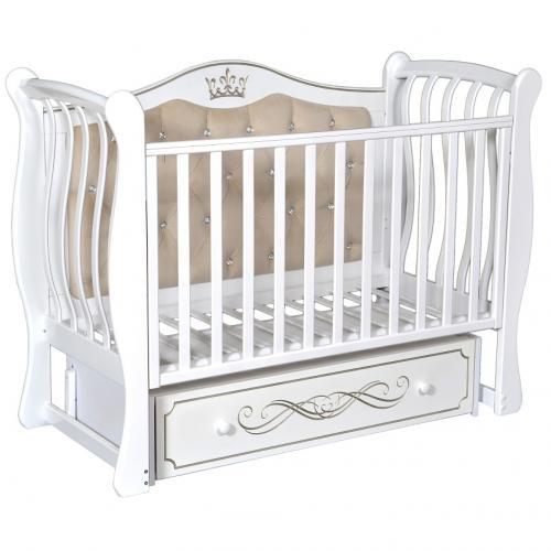 Детская кроватка с универсальным маятниковым механизмом RAY (КЕДР) Elizabeth Premium 2