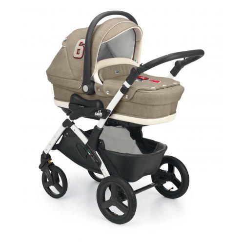 Детская модульная коляска Cam Dinamico Up Top 3 в 1