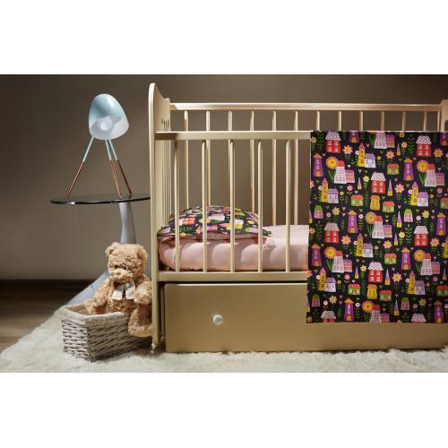 Комплект детского постельного белья Пеленкино Домики 3 предмета