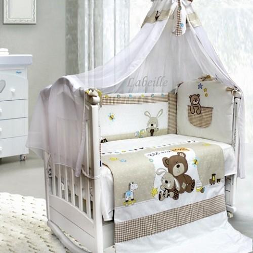 Детское постельное белье L'abielle Друзья