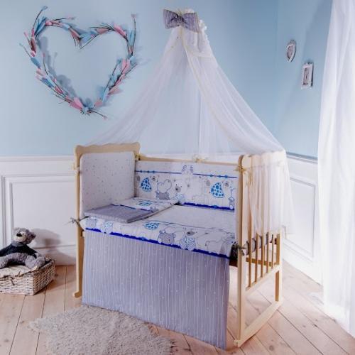 Комплект детского постельного белья Баю-бай Дружба 6 предметов