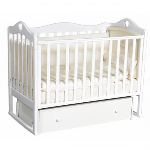 Детская кроватка с универсальным маятниковым механизмом RAY (КЕДР) Grace-4