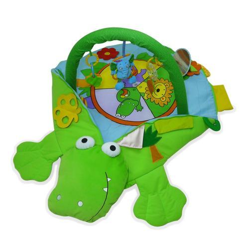 Развивающий коврик Biba Toys Крокодил Арт.JF433