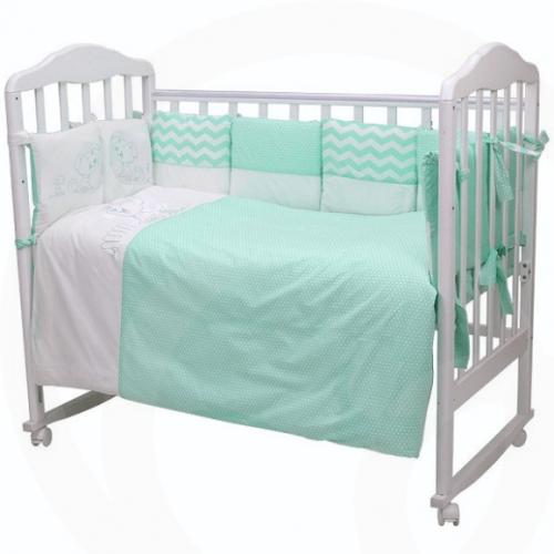 Комплект детского постельного белья Топотушки Гав Гав 6 предметов