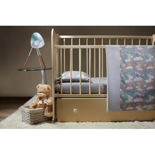 Комплект детского постельного белья Пеленкино Единороги 3 предмета