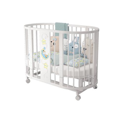 Детская кроватка-трансфрмер Можгинский лесокомбинат Эстель (7 предметов)