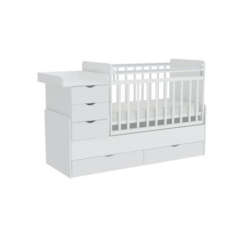 Детская кроватка-трансформер Фея 1150
