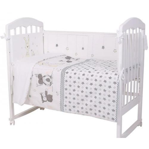 Детское постельное белье Топотушки Друзья 6 предметов
