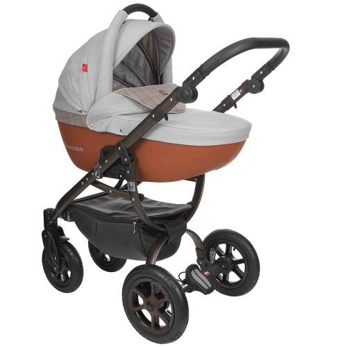 Детская модульная коляска Tutek Grander Play ECO PLUS 3 в 1