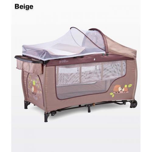 Детский манеж-кровать Caretero Grande Plus