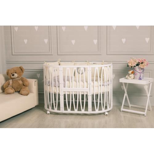 Детская кроватка INCANTO Estel Acqua 10 в 1