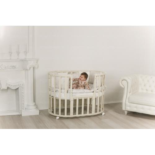 Детская кроватка INCANTO Uoma Da Vinci маятник 10 в 1