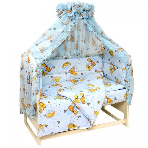 Комплект постельного белья Топотушки «Жираф Вилли» 7 предметов