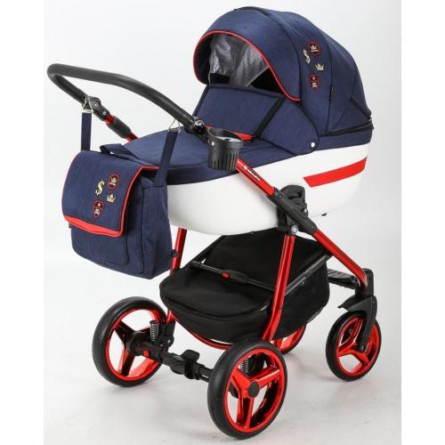 Детская модульная коляска Adamex Cortina Special Edition 2 в 1