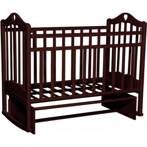 Детская кроватка Антел Каролина-3 орех