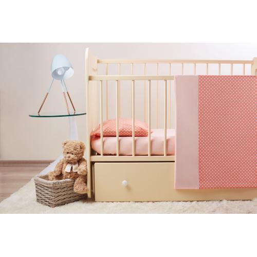 Комплект детского постельного белья Пеленкино Коралл 3 предмета