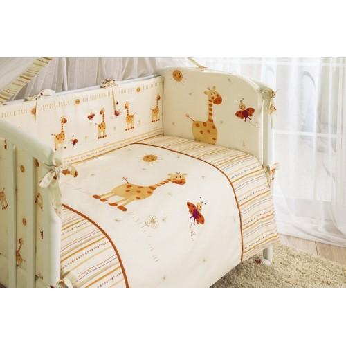 Комплект детского постельного белья Perina Кроха 3 Жирафик