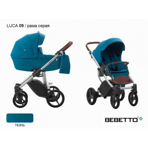 Детская модульная коляска Bebetto Luca 2 в 1