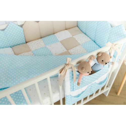 Комплект постельного белья Martoo Mosaik 7 голубой-беж