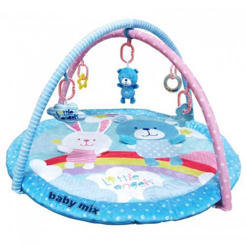 Детский игровой развивающий коврик BabyMix Радуга Арт. 3424
