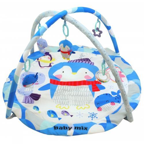 Детский игровой развивающий коврик BabyMix Пингвиненок Арт. 3434